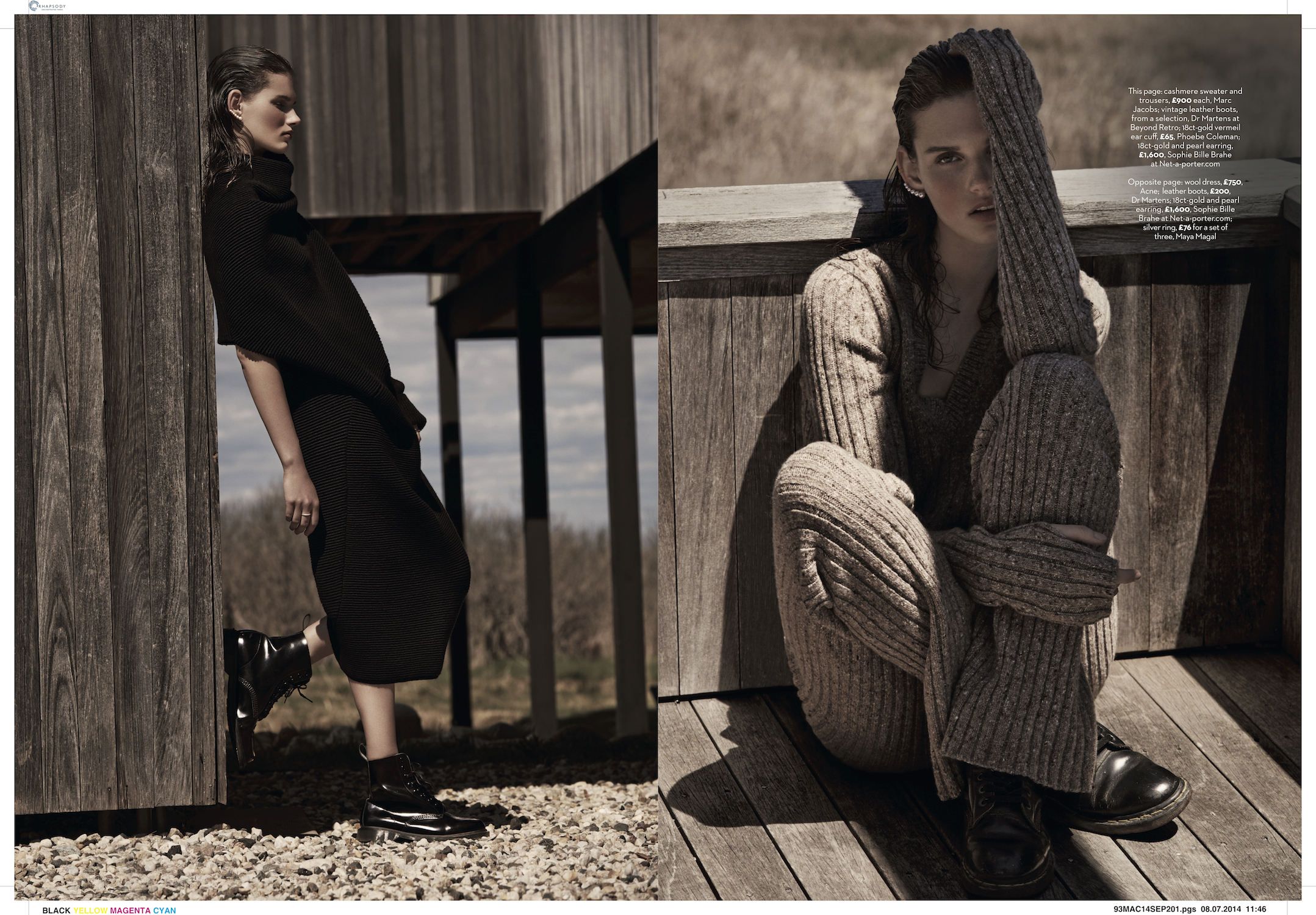marie claire uk photo shoot by james macari and county fair productions in the hamptons 6