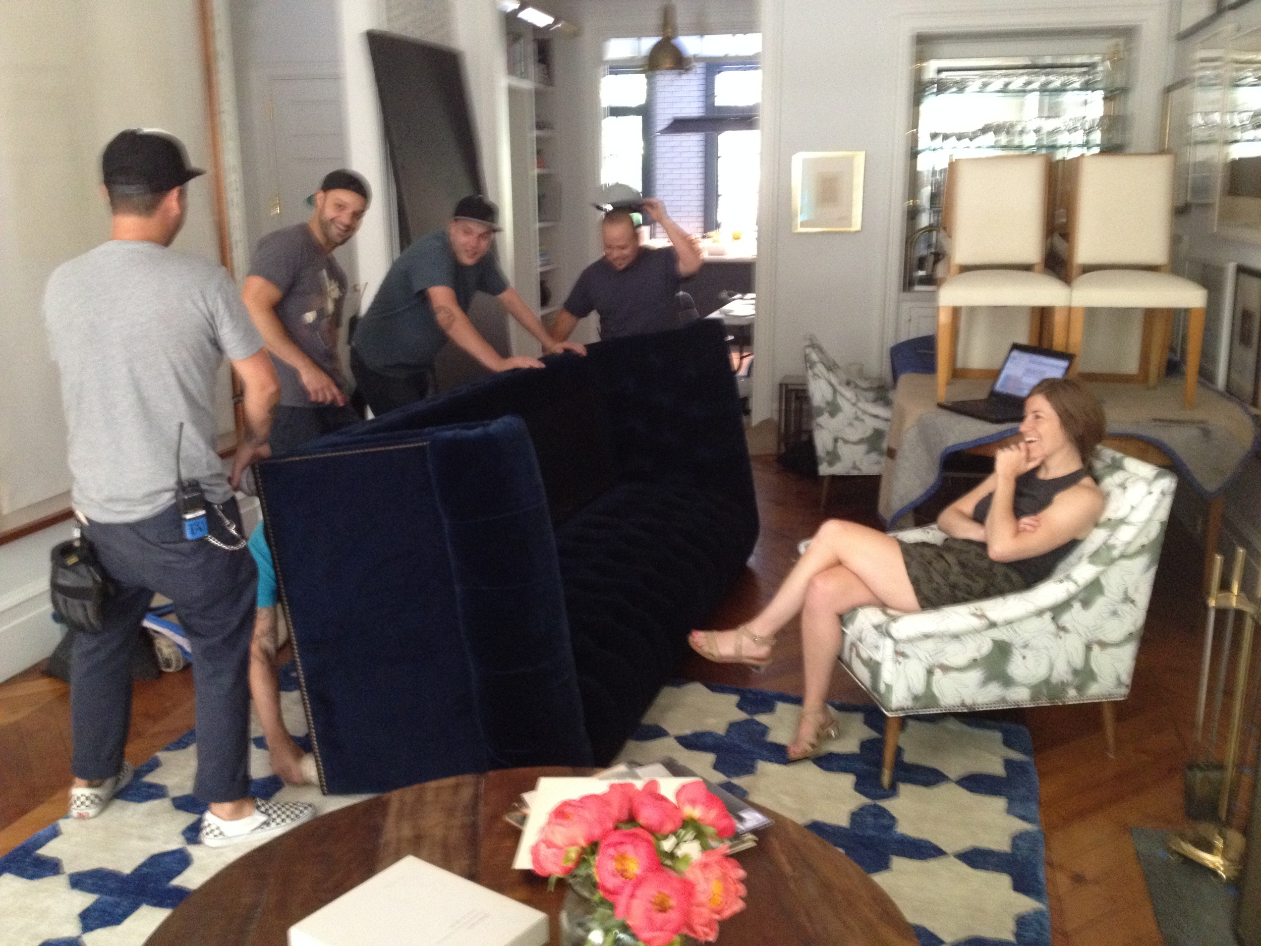 anthropologie house and home catalog on location with county fair productions nyc 3