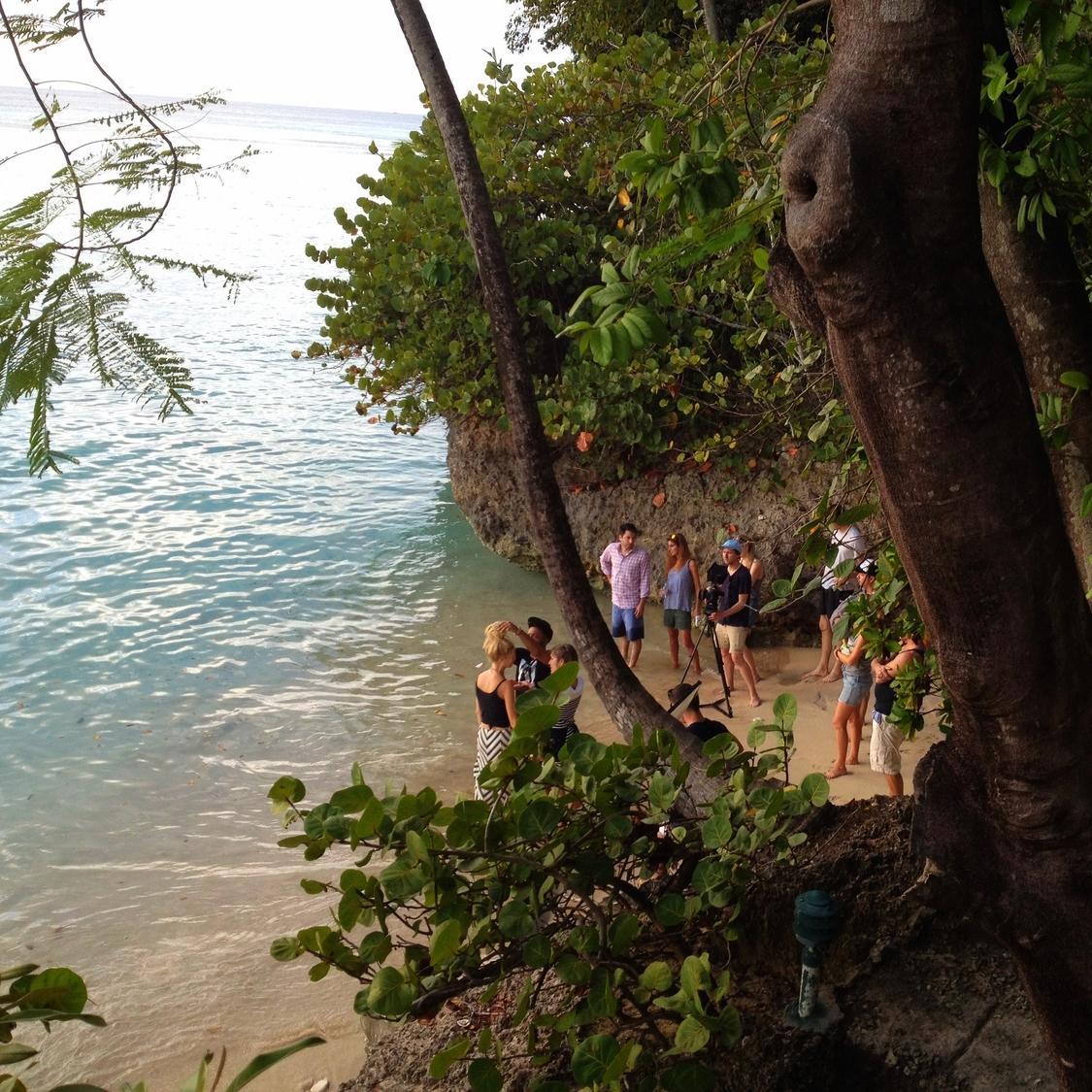 Calypso St Barth on location in Barbados