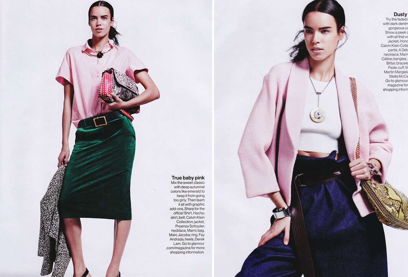 hind sahli photos for glamour magazine by photographer nicolas moore 1