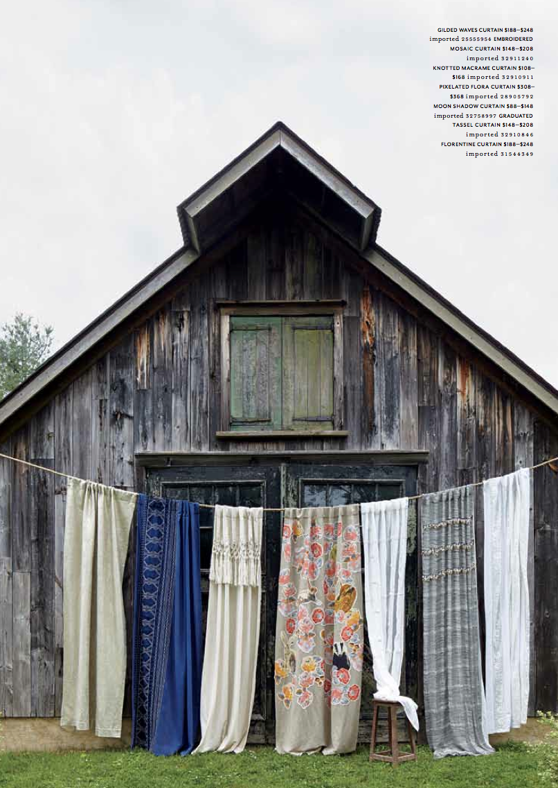 anthropologie house and home catalog on location with county fair productions still life with blankets
