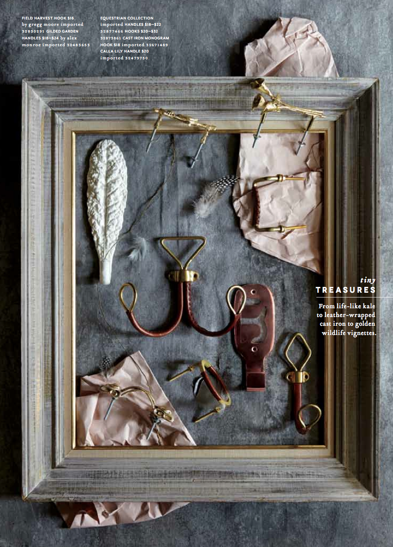 anthropologie house and home catalog on location with county fair productions still life with hooks