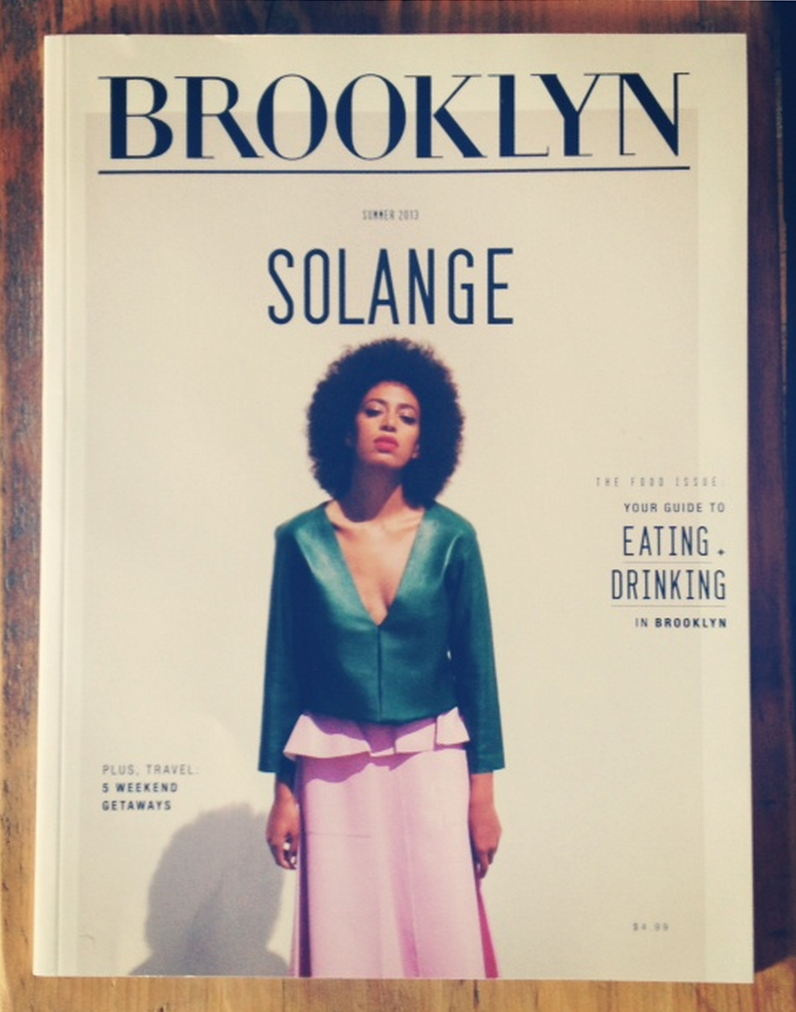 solange knowles for brooklyn magazine cover by iO tillet-wright