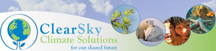 clear sky climate solutions helped us plan our approach to carbon offsets on photo and video shoots