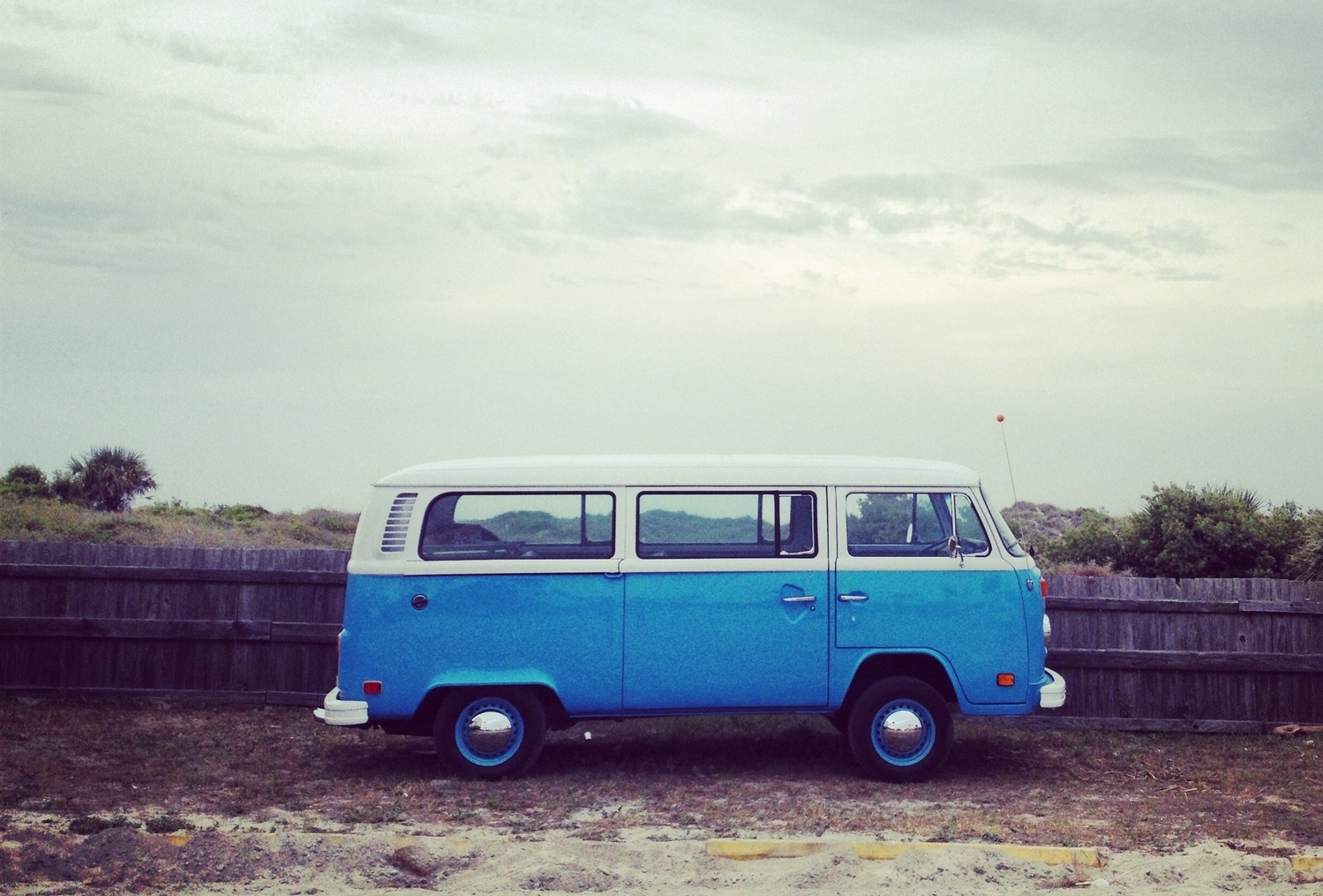 anthropologie in savannah vintage vw blue bus bts