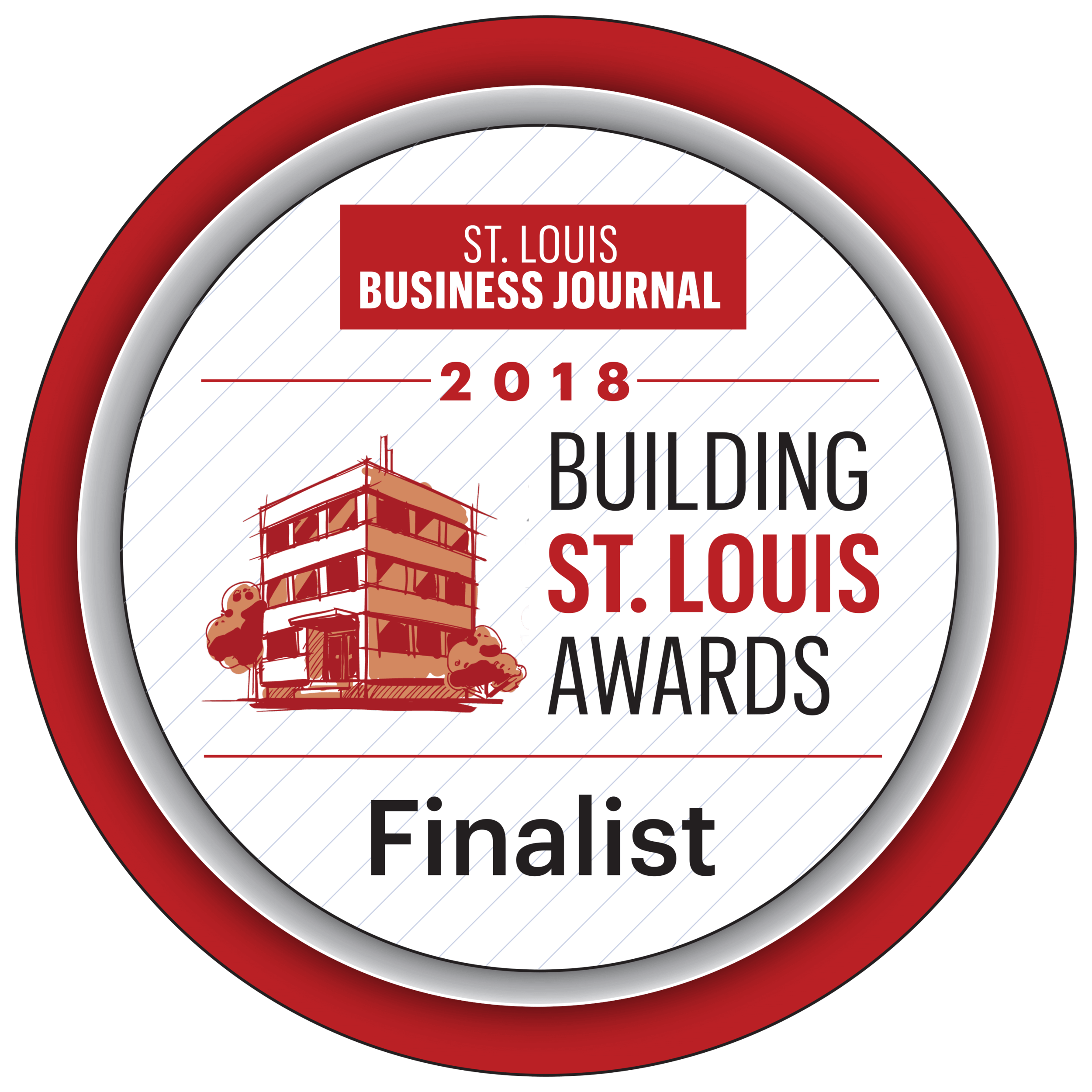 St. Louis Business Journal Building St. Louis Awards Finalist (2018)