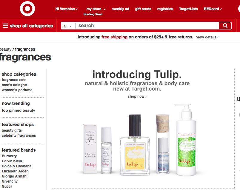 Introducing Tulip On Target.com