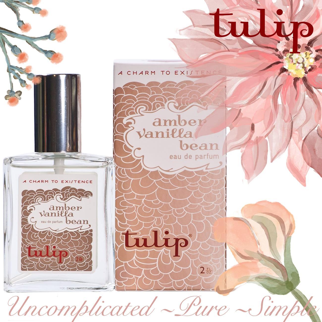 Amber Vanilla Bean Perfume Spray