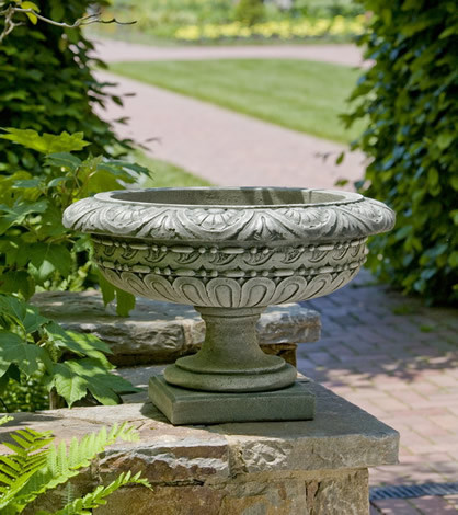 Longwood Rosette Urn