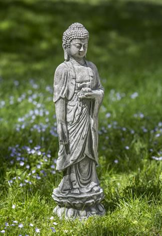 Standing Lotus Buddha
