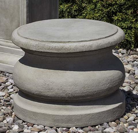 Low Round Plain Pedestal
