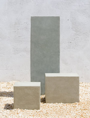 Tall Square Textured Pedestal