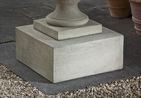 Textured Low Square Pedestal Large