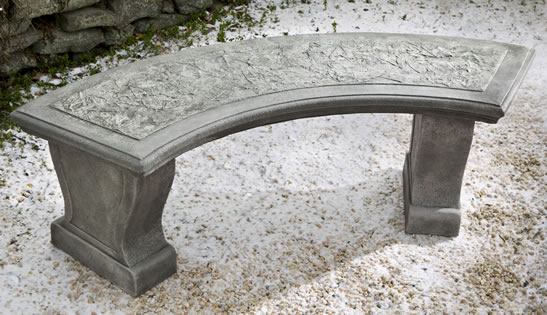 Curved Leaf Bench