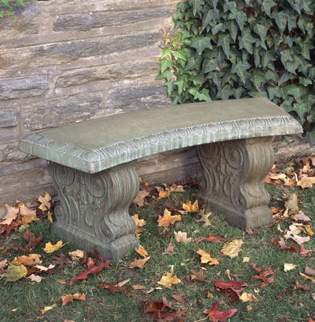 Curved Traditional Bench