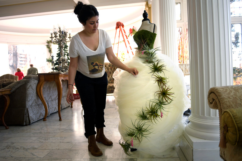 Holiday Decorations up at Governor's Residence  (The Denver Post)