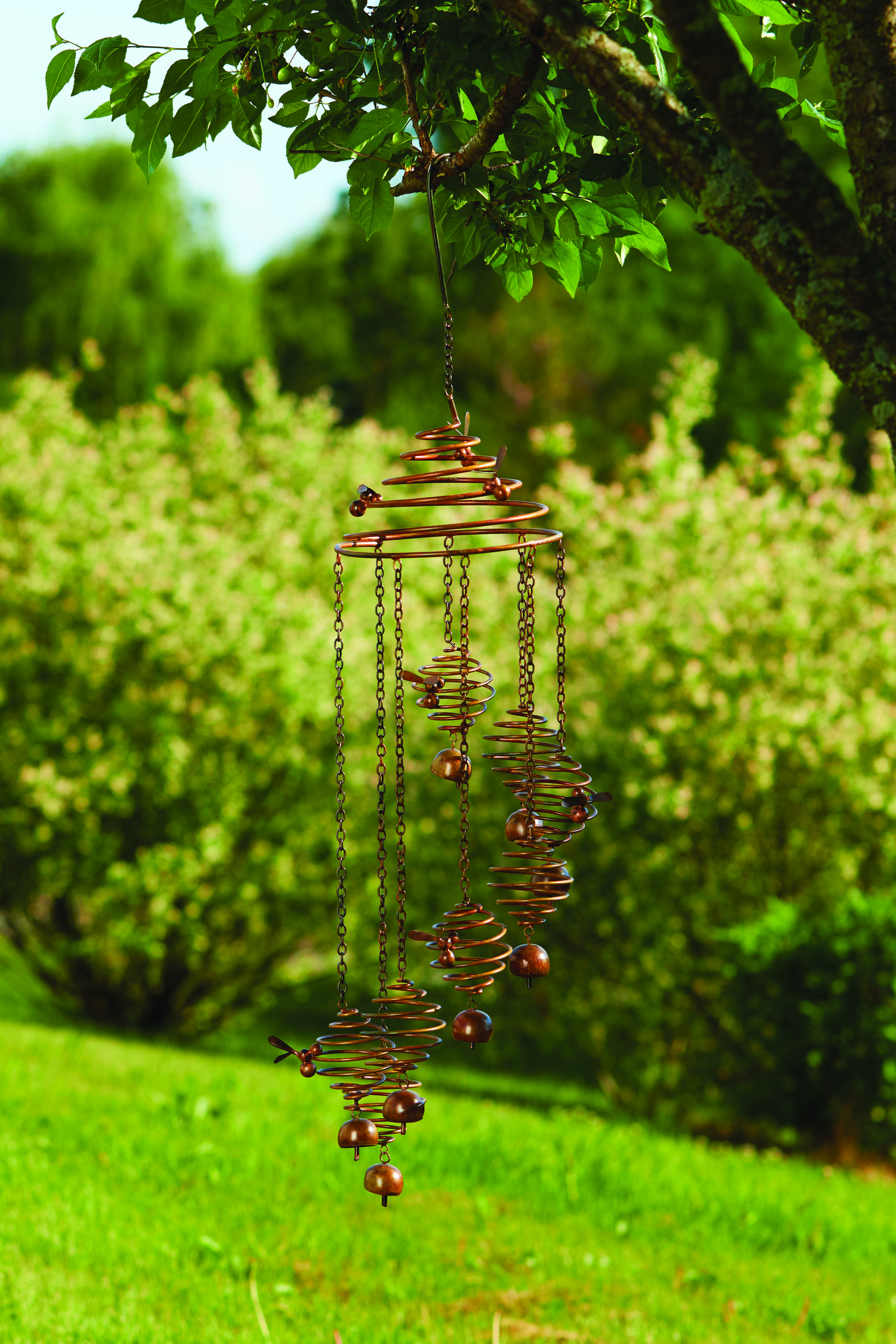 Bee Spiral with Bells    $74.95