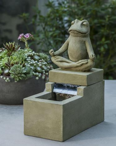 Mini Element with Frog Fountain