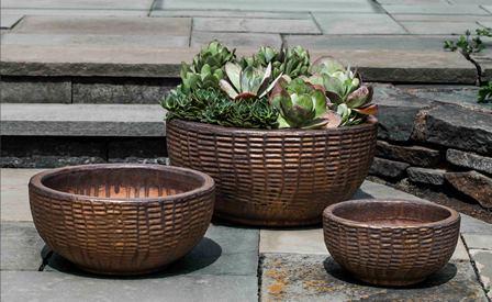 Antique Lattice Basket