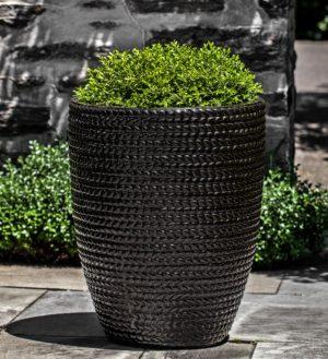 Tall Sisal Weave Planter