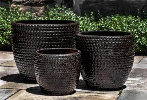 Sisal Weave Planter, Cola