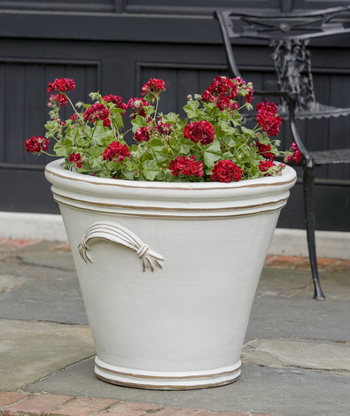 Fluted Handle Planter