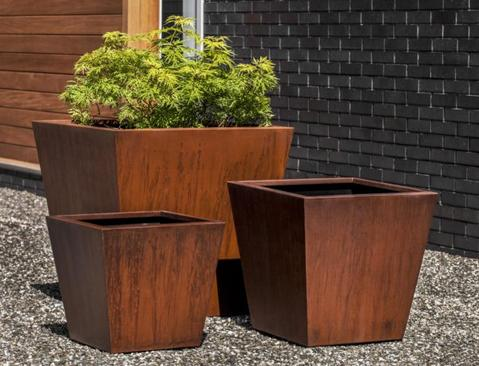 Steel Tapered Planter