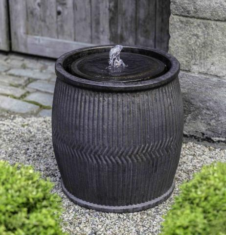 Rain Barrel Fountain