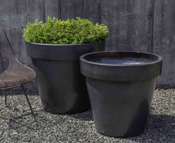 Midtown Planter - Metal Grey