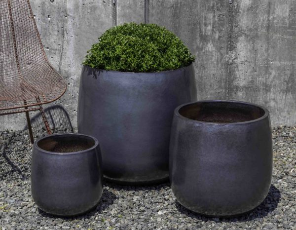 Potrero Planter - Metal Grey