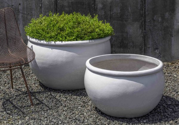 Reseda Planter - White