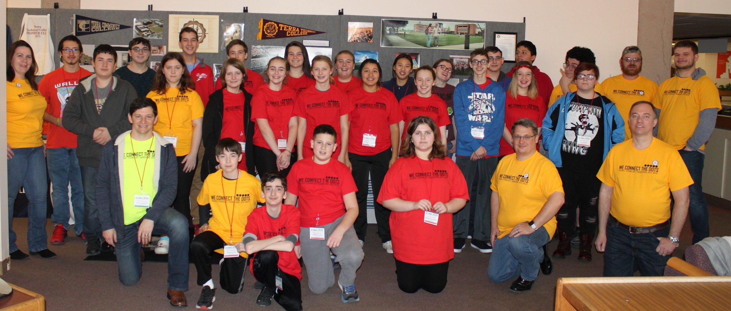 Fremont, OH 2019 Code-A-Thon Participants