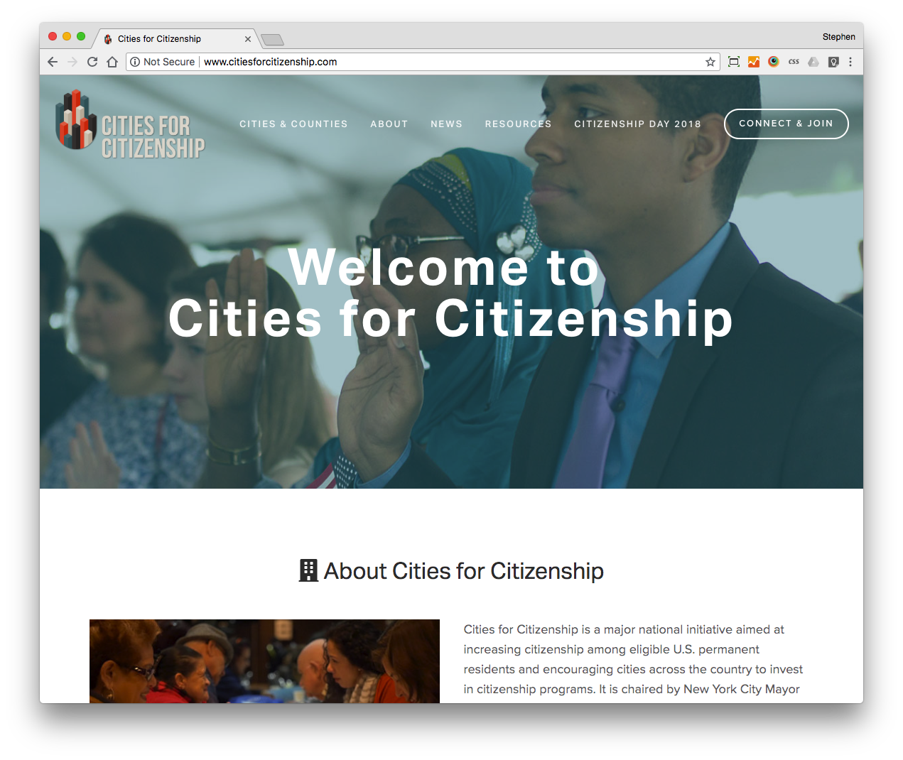 Cities for Citizenship