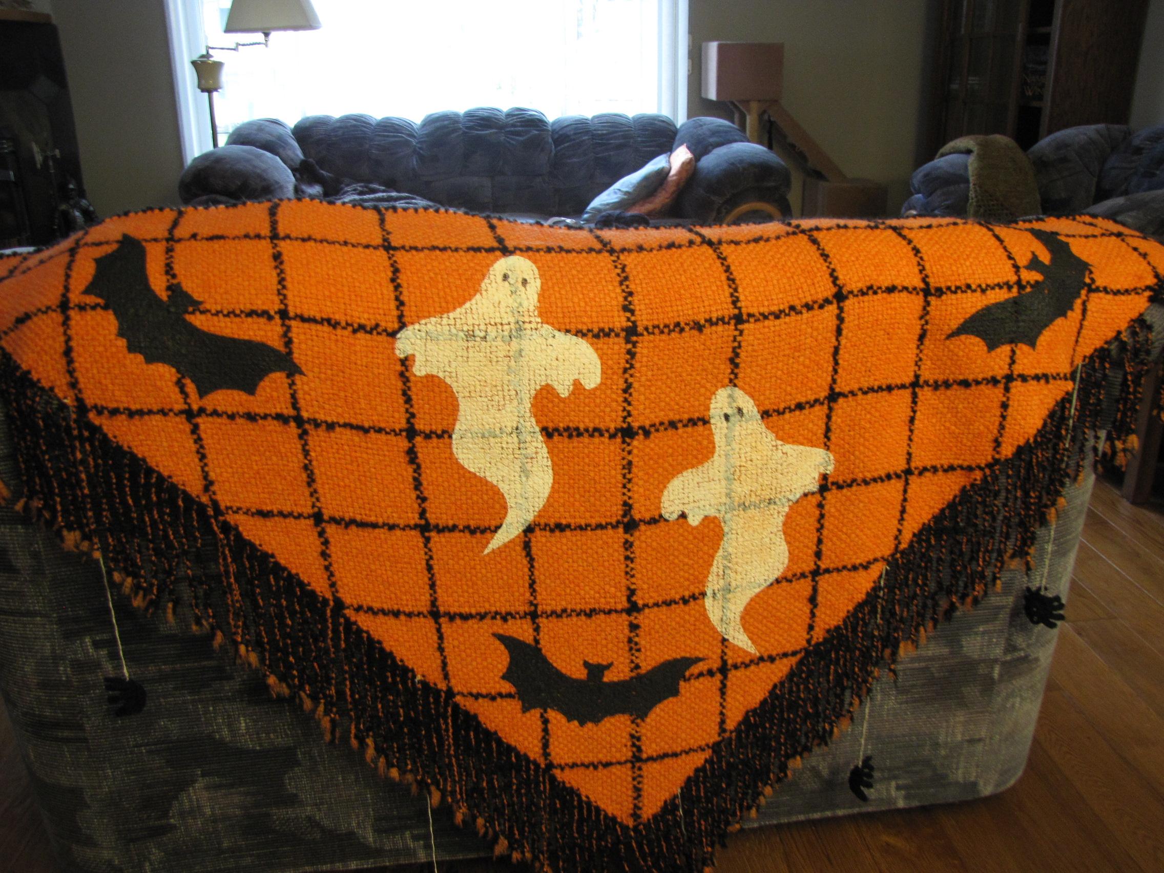 Halloween Shawl 2012