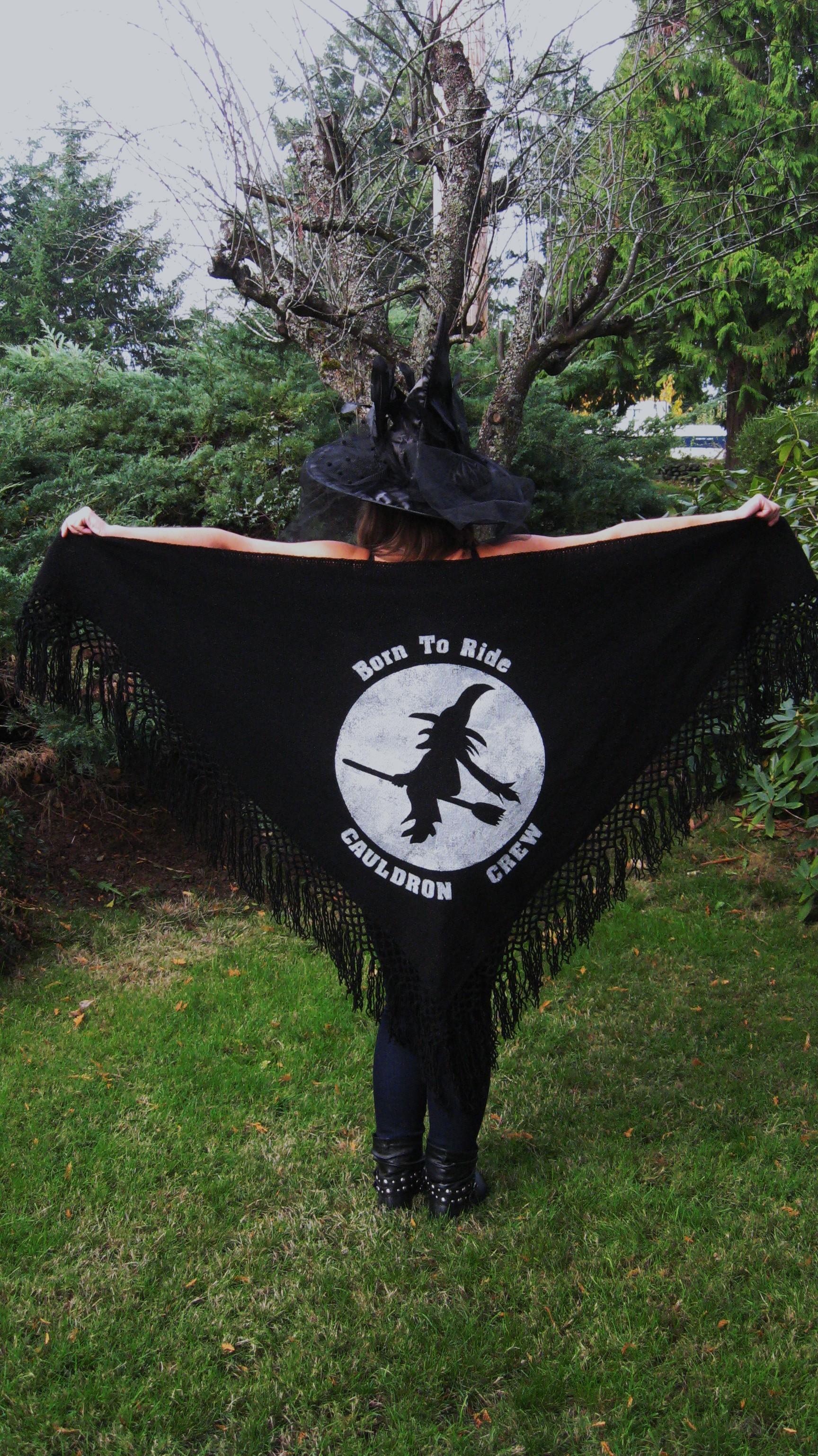 Halloween Shawl 2013