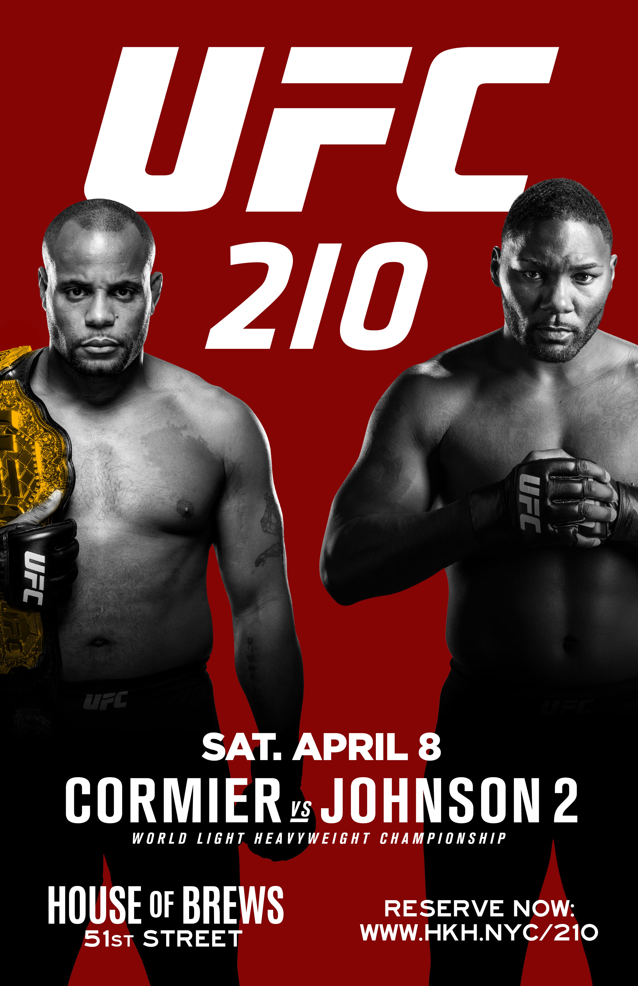 watch ufc 210 no cover nyc