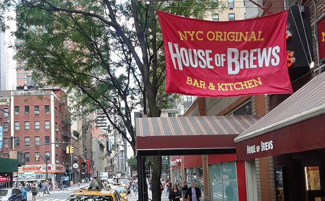 While you're out at the 8th Ave fair make sure to stop by! Look for our House Of Brews flag.  #8thave #HoB #brewsnyc #Brunch #hellskitchen