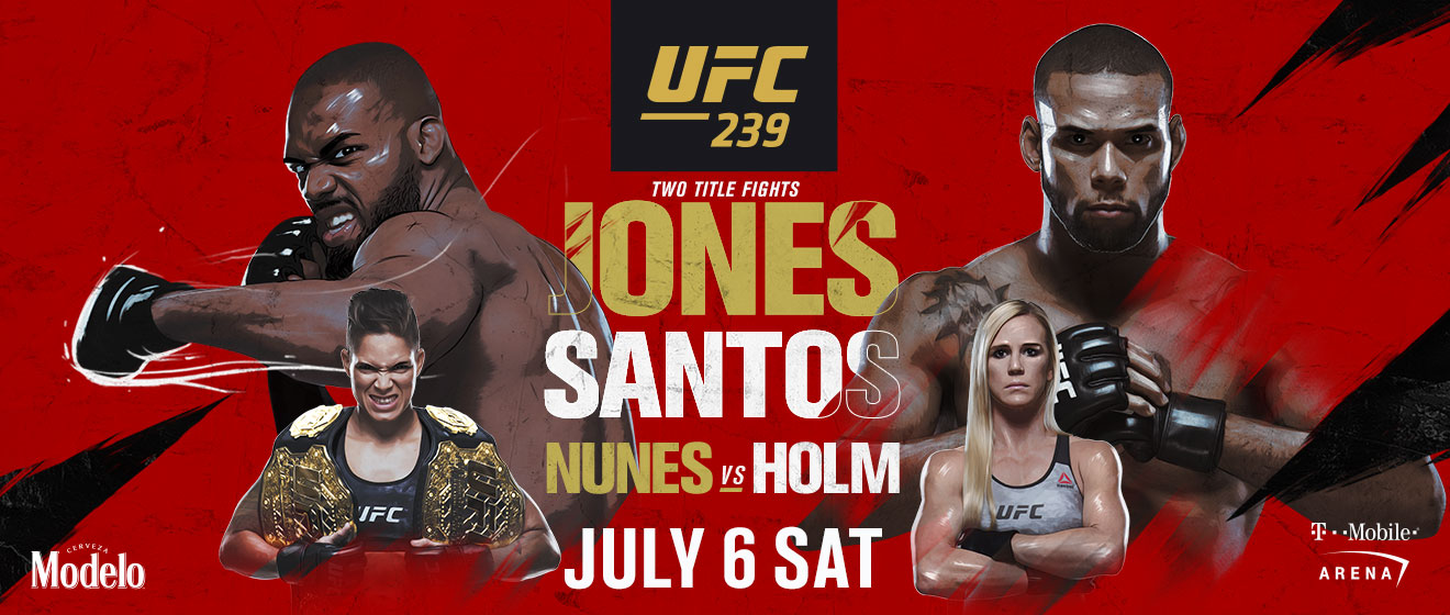 Watch UFC 239 NYC no cover
