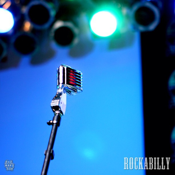 "Look at that beautiful #microphone ! Concept photo for our new #featurefilm ""Rockabilly"" #indiefilm #independentfilm #music #rocknroll #rockabilly #rockabillyfilm #film"