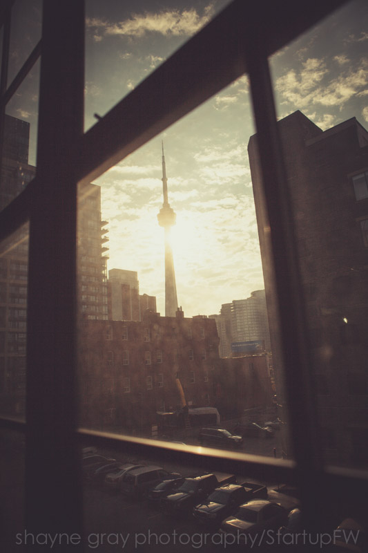 Amazing view of Toronto's CN Tower