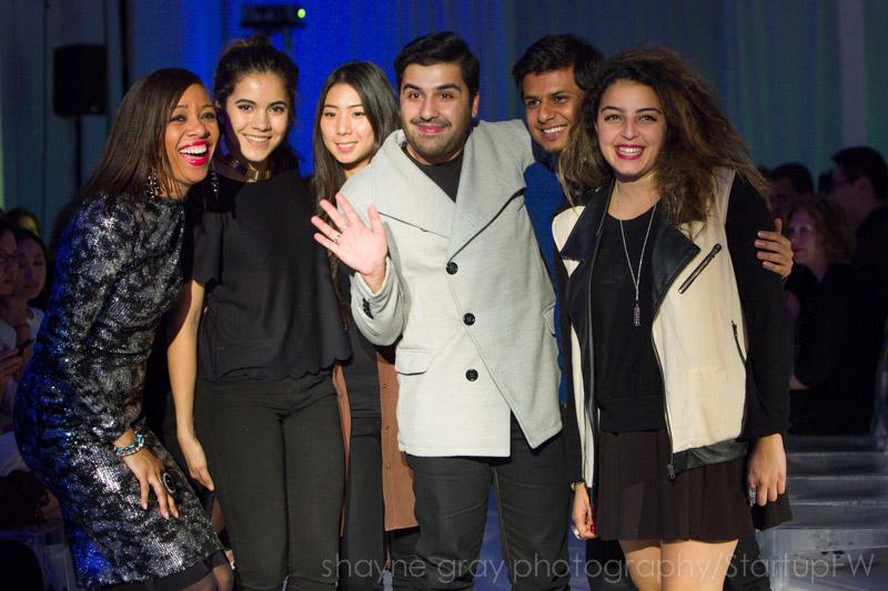 Simone Riding-Cunningham, Jason Cameron, Basil Waris, Toronto Fashion Academy