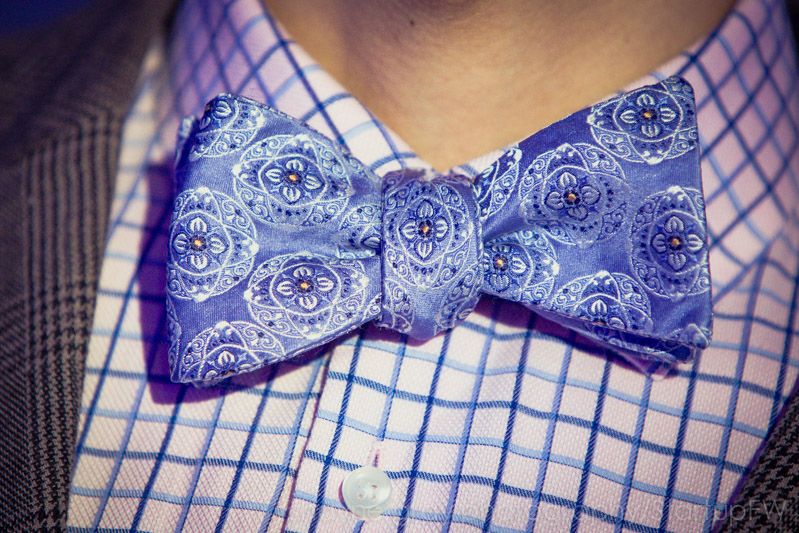 And as has quickly become tradition: Robert Tu of MeU's bow tie