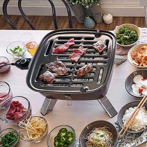 Authentic Korean BBQ Experience for Eight - The one of a kind experience can take place in your home or can be hosted by Chef Kate Prolman in her beautiful home. Chef Kate will be using an INDOOR/OUTDOOR PORTABLE GRILL complete with starters, side dishes and dessert. Bring your own Booze, Wine or Korean Beer. Donated by: Kate's Kitchen Cooking Classes; Value: $400