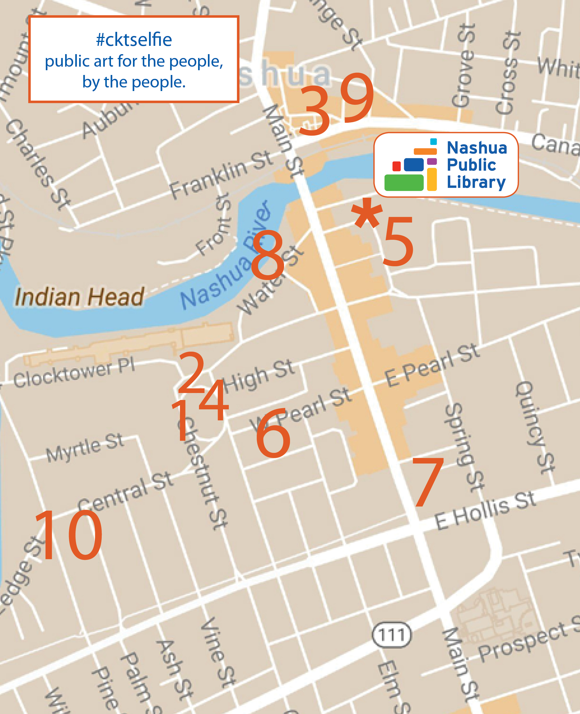 Download a MAP - Get a brochure with locations and descriptions of the ten tables around Nashua.
