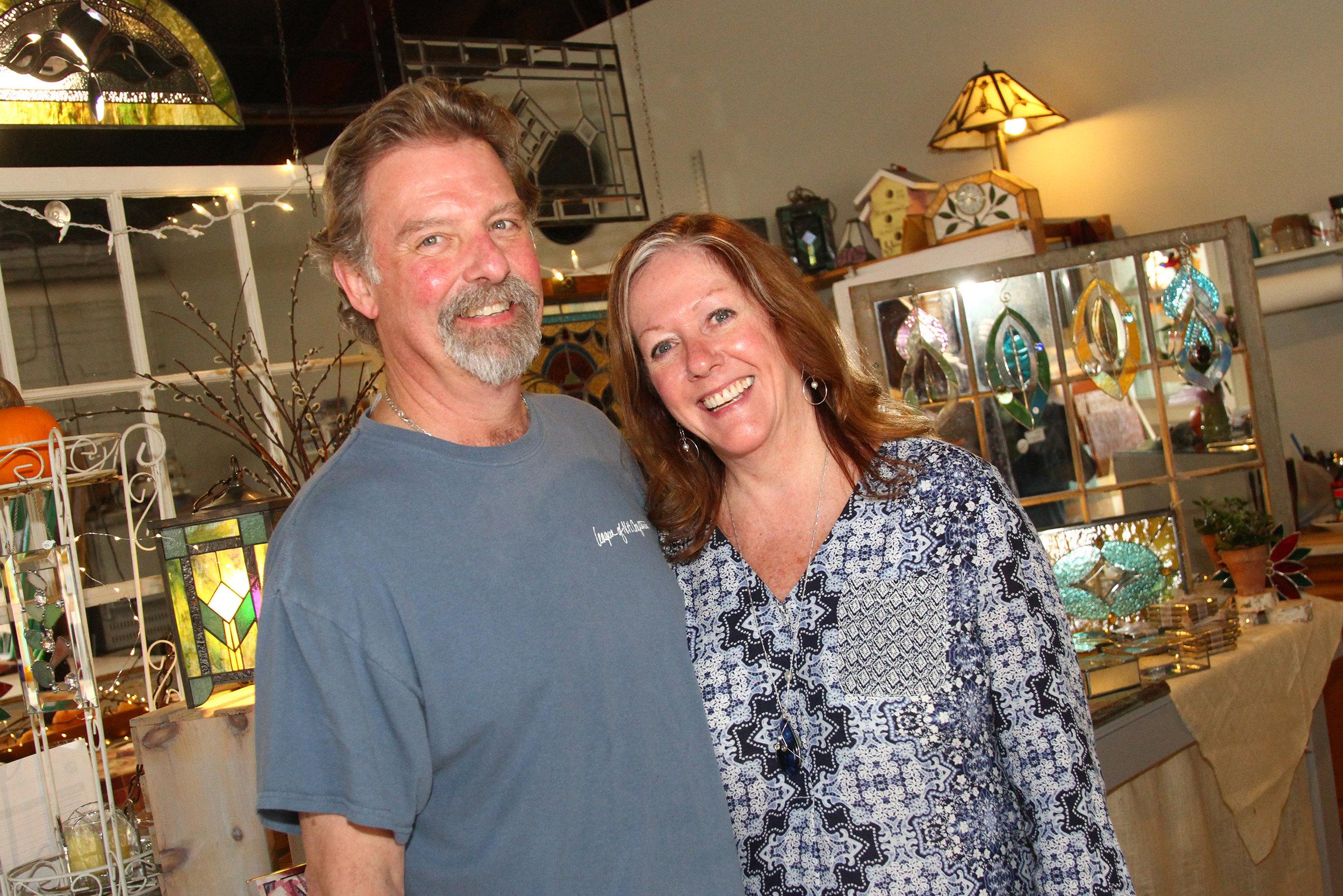 Kathy & Mark Frank