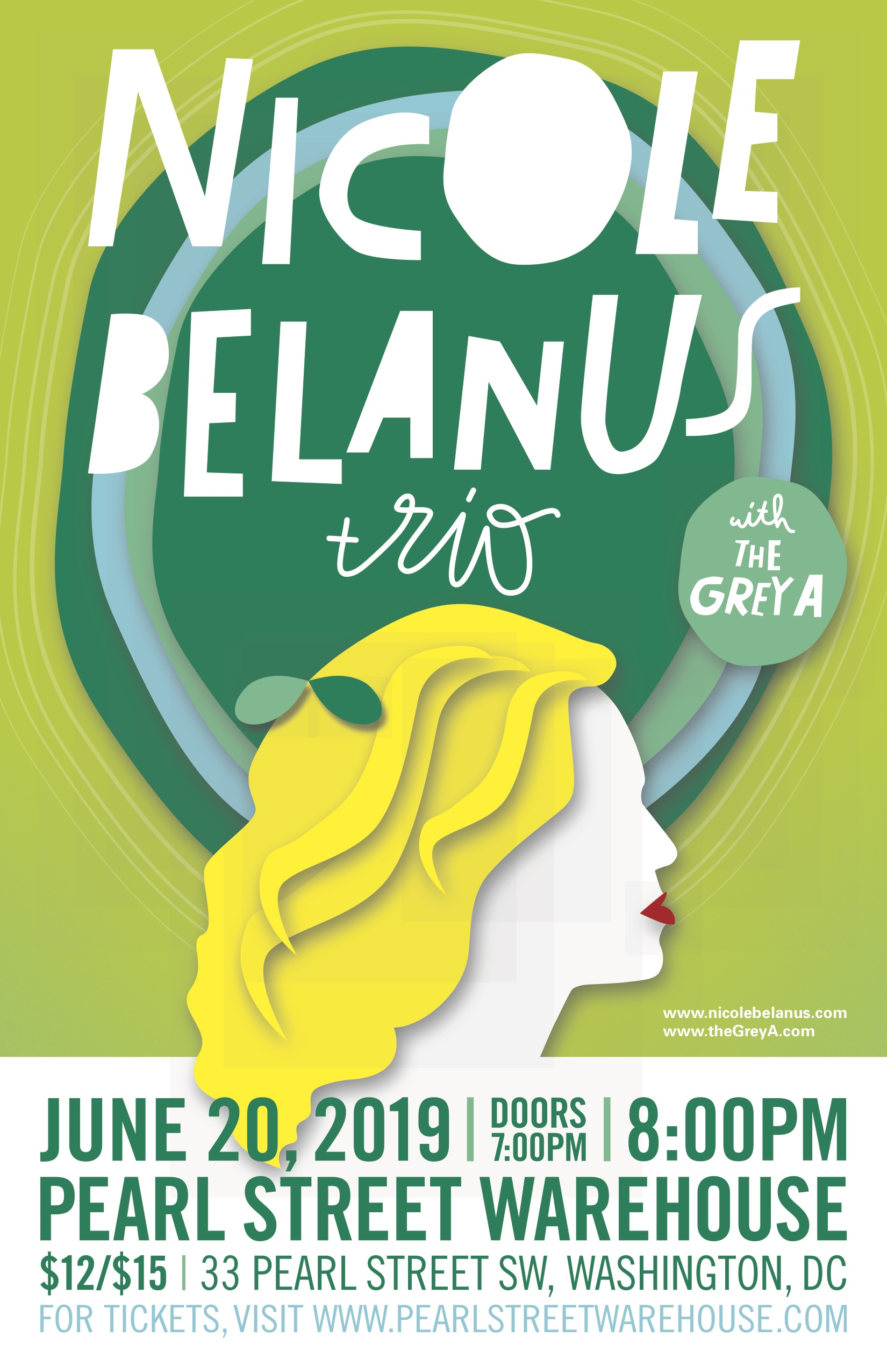 Nicole Belanusthe Grey AThurs, June 20th - 7pm doors / 8pm showtime+21    $12 in advance / $15 day of show