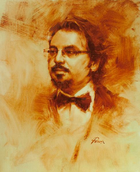 Marius Oil Sketch
