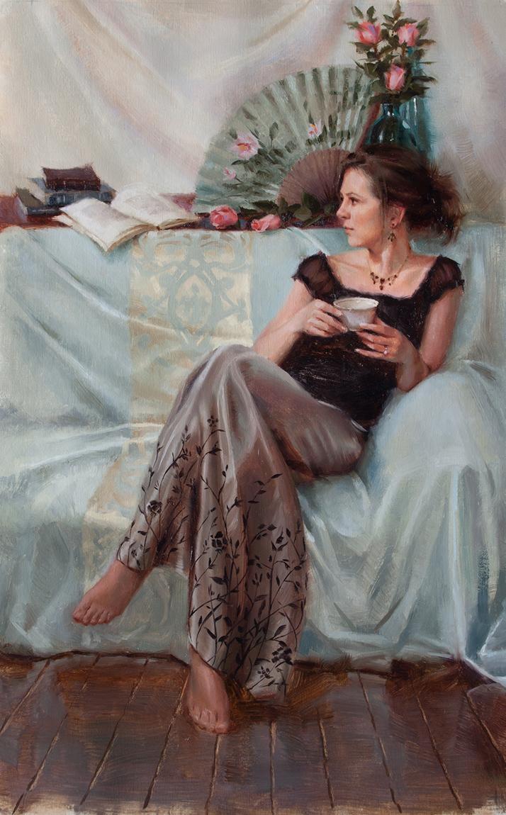 Niki Tea Portrait