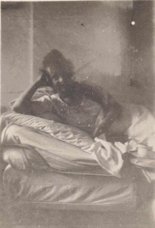 Aida at St. Joseph's Hospital, Copenhagen, Denmark: 1920