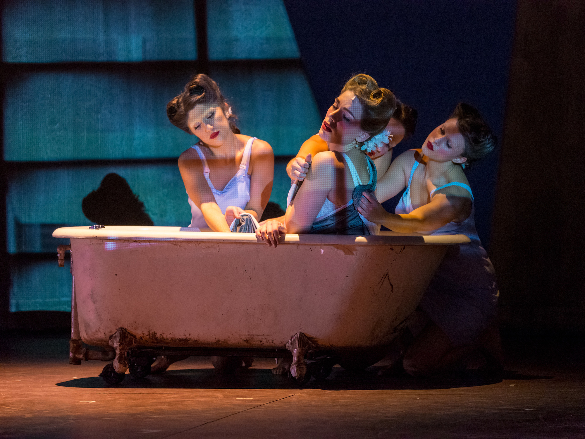 """Department of Theatre and Dance Students Stage """"A Streetcar Named Desire,"""" Montclair State University"""
